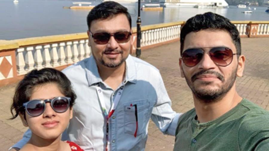 Ditipriya, Subhrajit and Arjun