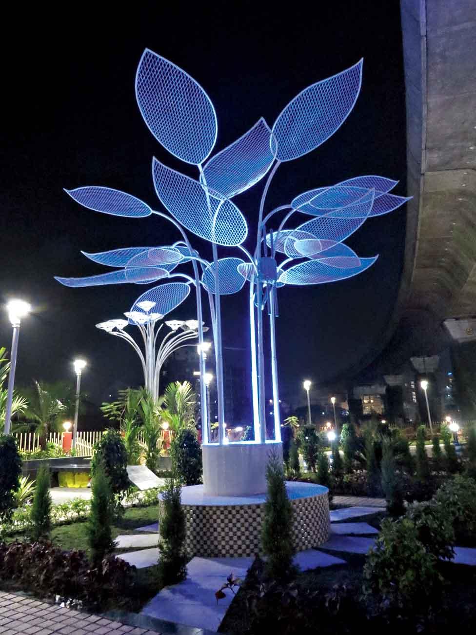 A wifi tree which creates a hotspot