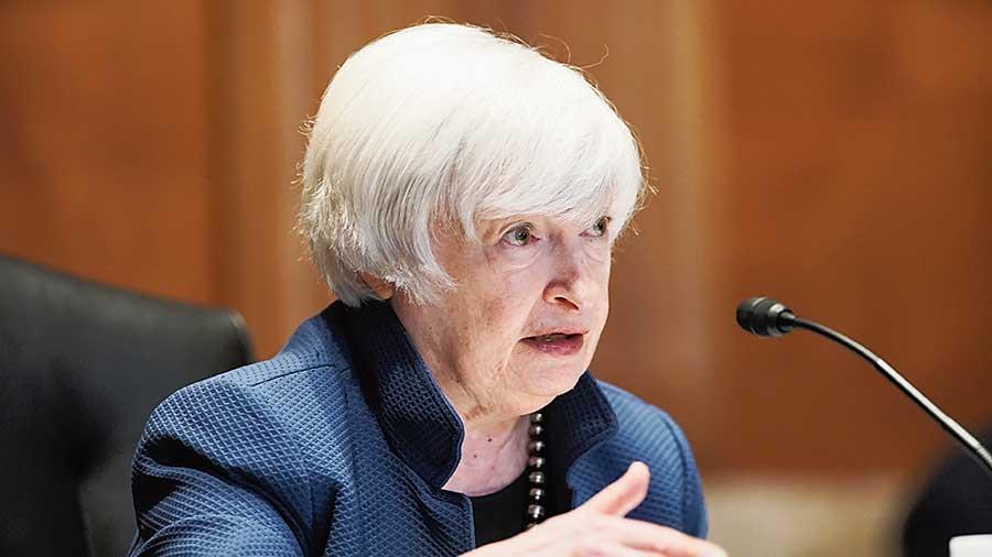 US Treasury Secretary Janet Yellen.