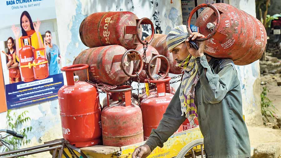 In the last eight or nine months alone, prices of LPG cylinders have gone up by Rs 265, which is almost 44 percent