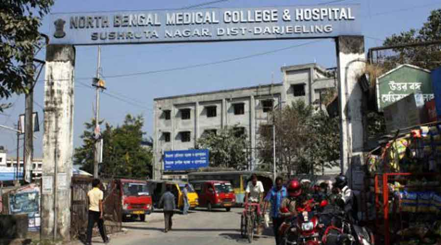 North Bengal Medical College and Hospital.
