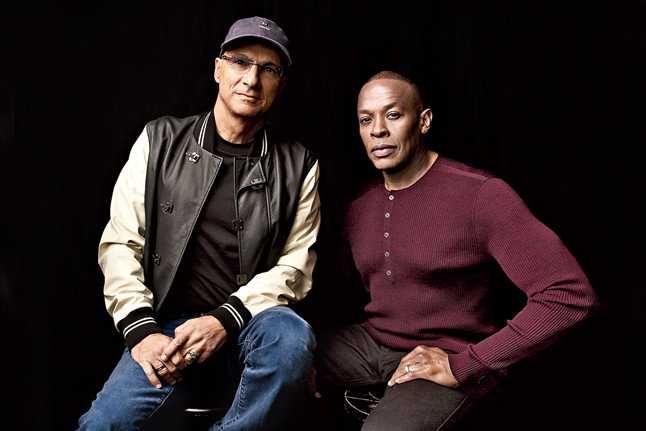 The Defiant Ones revolves around Dr. Dre and Jimmy Iovine
