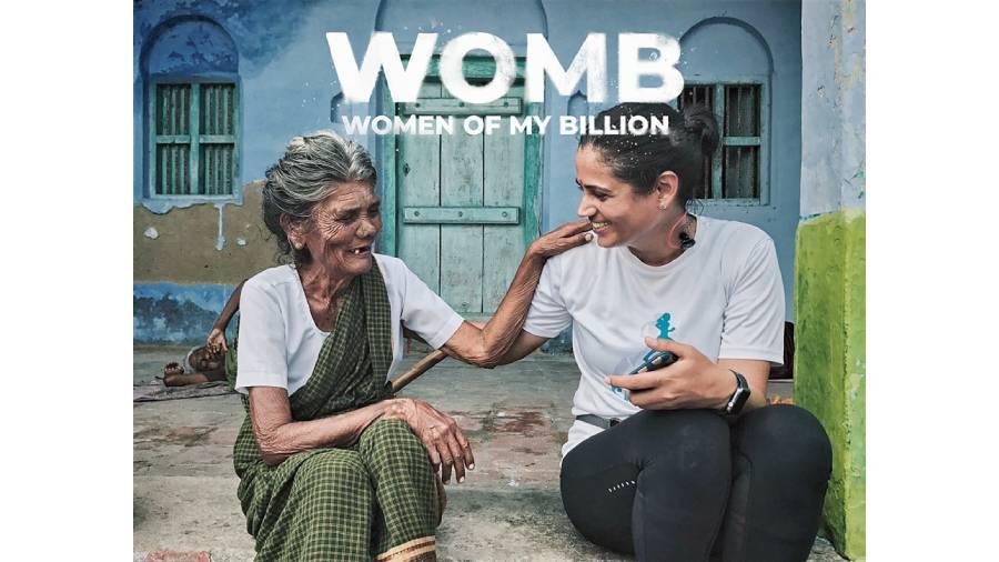 Srishti Bakshi (right) in WOMB — Women of my Billion