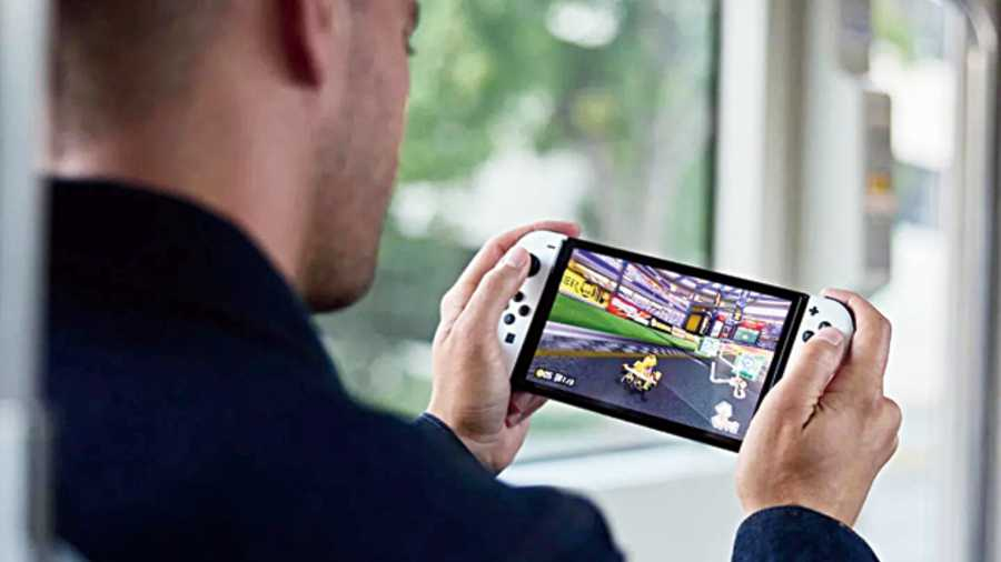 The Nintendo Switch OLED model is available October 8.