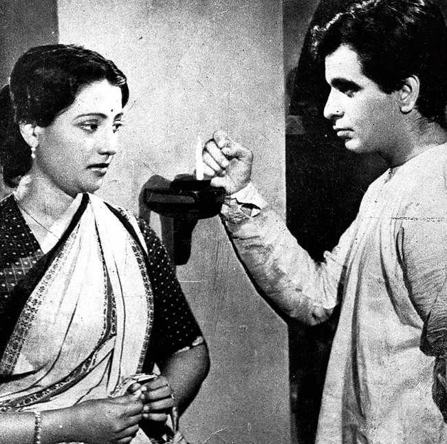 With Suchitra Sen in Devdas