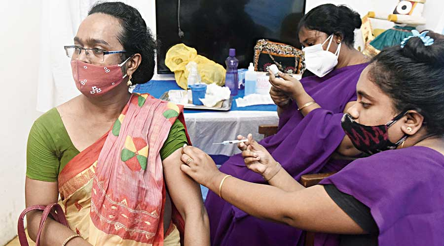 Mandaviya underlined that regular review meetings are held with states and UTs to review all aspects of the vaccination drive, including vaccine wastage, and they are advised to keep the wastage to the minimum.