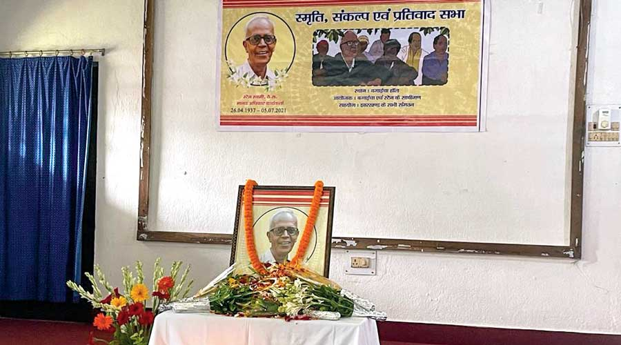 Swamy, 84, possibly the oldest person to be accused of terrorism in India, died in a Mumbai hospital recently in the middle of his fight for bail on health grounds.