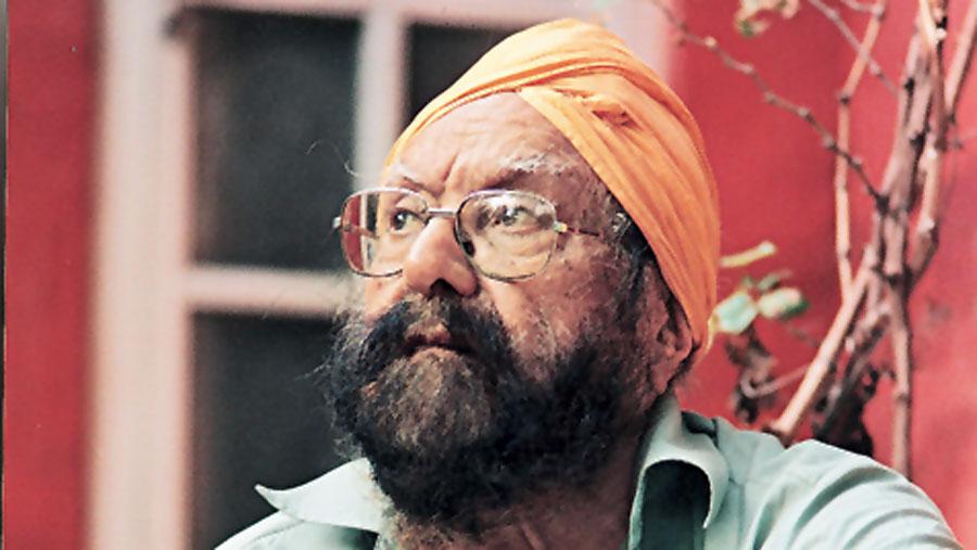 Khushwant Singh.