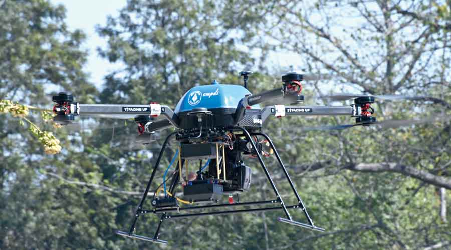 If any unmanned aerial vehicle is found to violate the directive, the naval installation can confiscate or destroy it without prior approval: Officer.