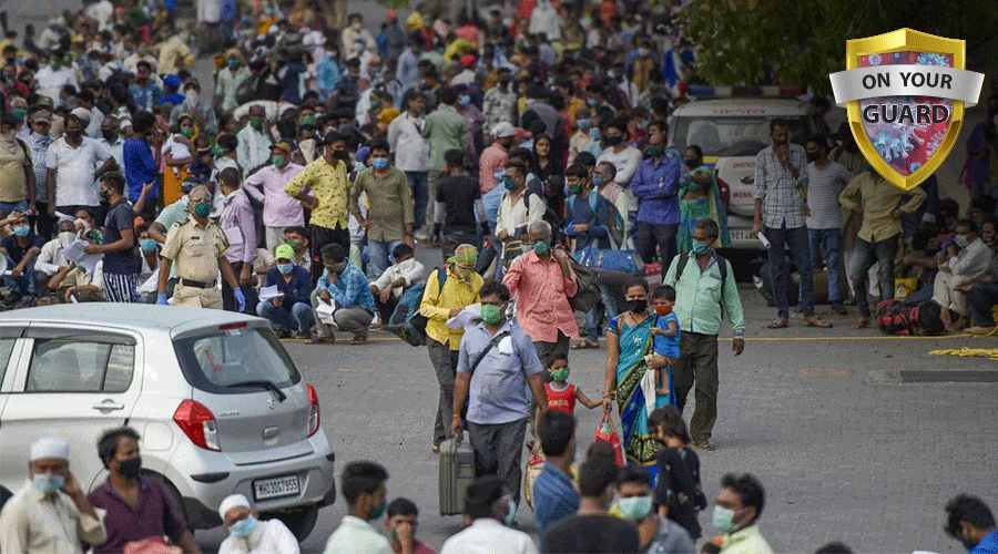 Referring to statistics of the week beginning Monday, June 28, the government noted thatMaharashtra and Kerala had recorded more than half of the coronavirus cases.