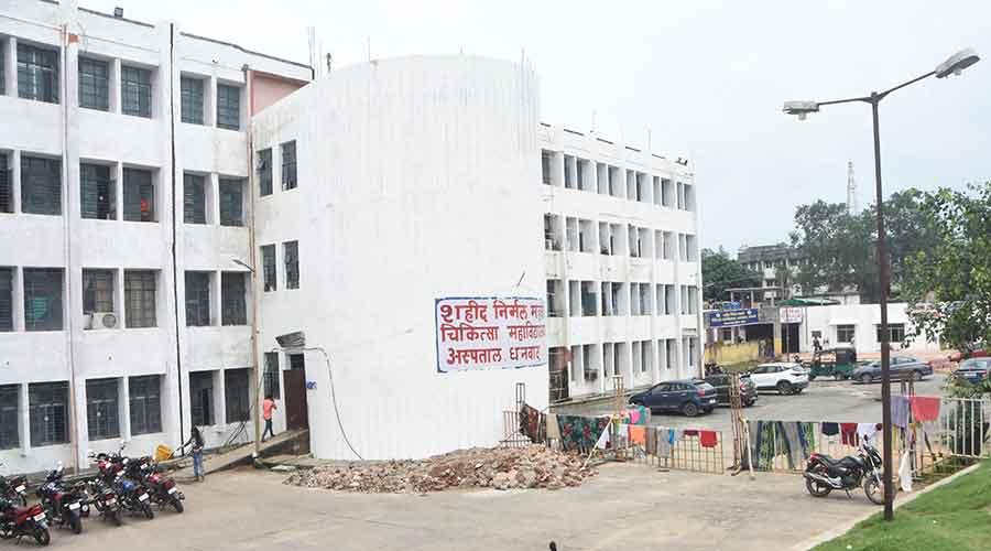 The SNMMCH at Saraidhela in Dhanbad on Monday.