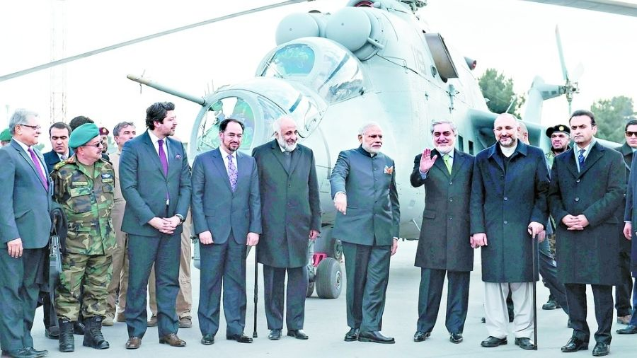 Afghanistan: India going  Whiskey-Tango-Foxtrot
