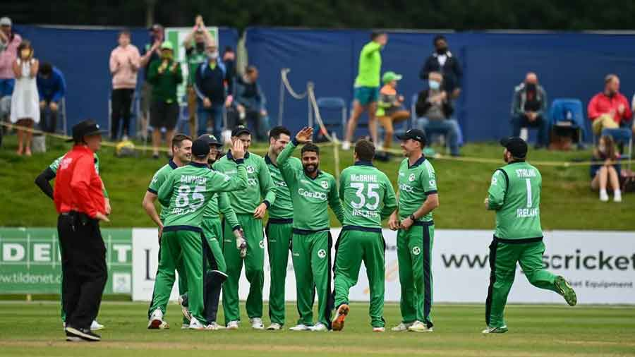 Their bowlers were off the mark as Ireland, after being put in, posted 290/5 with skipper Andy Balbirnie hitting 102. The Proteas then were bowled out for 247 with nine balls still remaining.