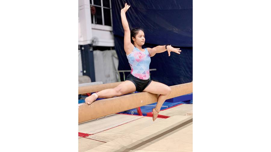 Gymnast Pranati Nayak