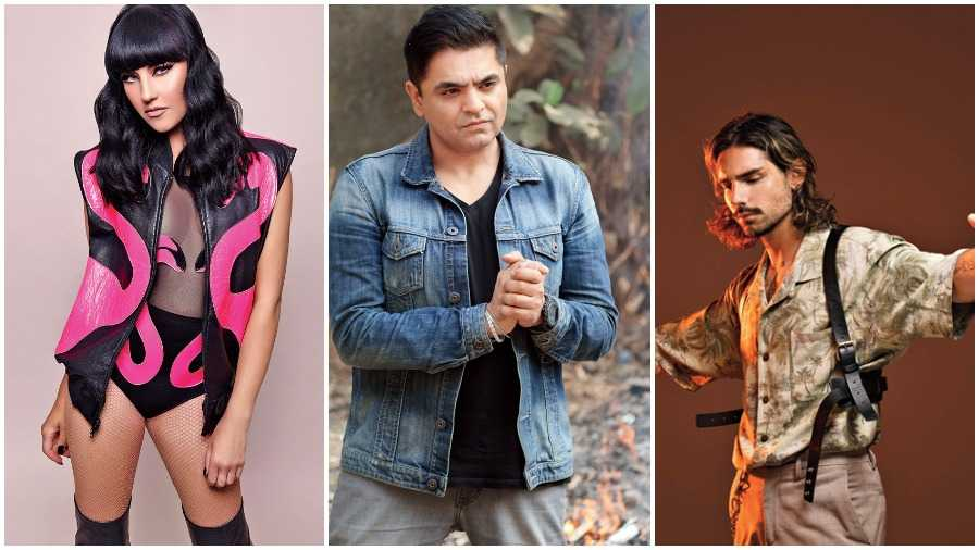 (Left to right) Tara McDonald, Rishi Rich and Rawdolff have made a remake of the Kylie Minogue song, as a Beats of India remix