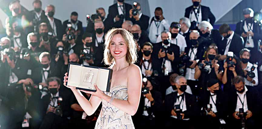 Renate Reinsve, took home the Best Actress honour for The Worst Person in the World