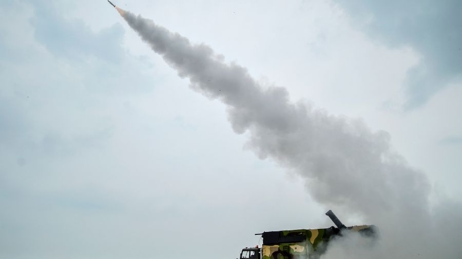 The surface-to-air missile was launched from the Integrated Test Range (ITR) off Odisha coast on Wednesday.