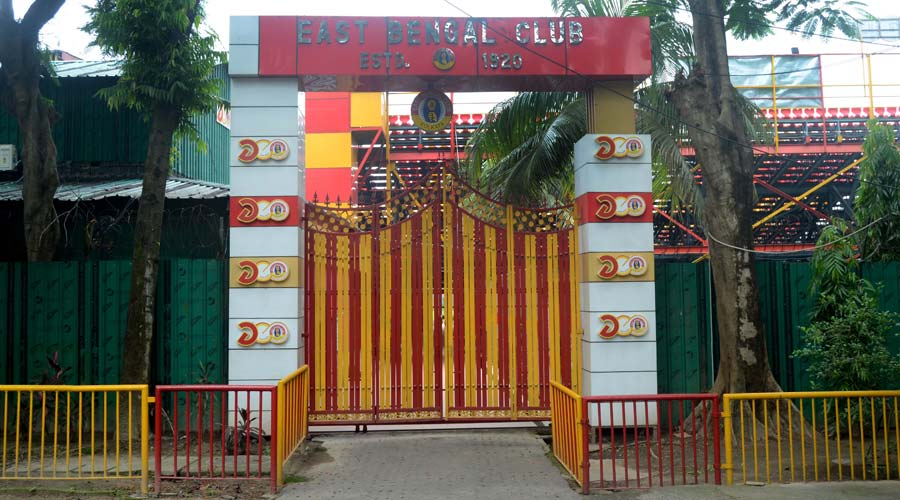 The protest was planned last week by a host of fan groups with East Bengal Real Power taking a lead role.