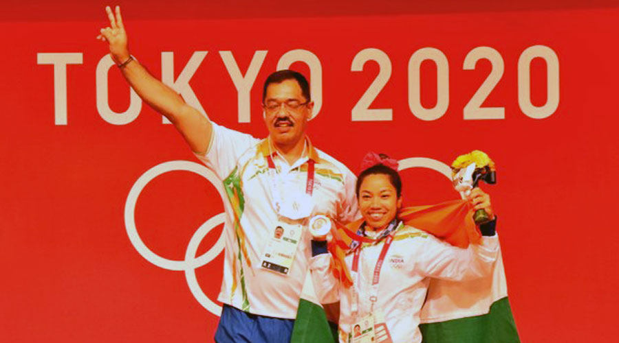 The silver medal is result of sacrifices Mirabai made in the last Olympic cycle: Coach Vijay Sharma - Telegraph India