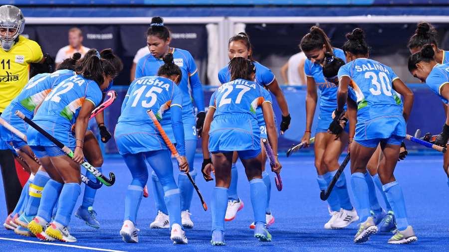 Índia women's hockey team.