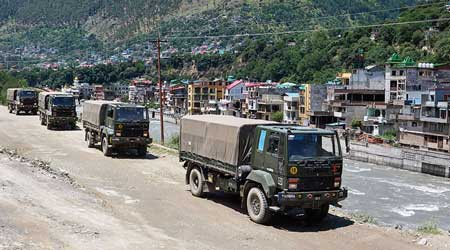The IAF has also enhanced deployment of frontline jets, attack helicopters and transport fleet in its key bases along the LAC besides battle tanks, missile systems and frequent sorties by its combat aircraft