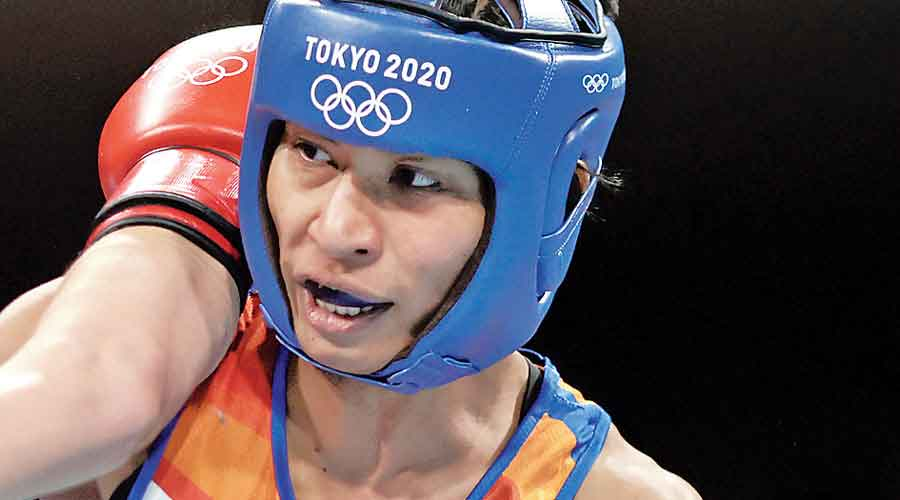 Hers is also the first Olympic medal in boxing in nine years and the aim now is to reach where none before her has reached — the final.