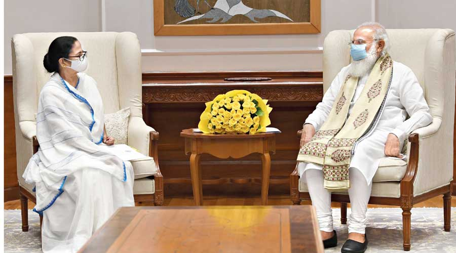 Governance issue in focus at Mamata-Modi meet