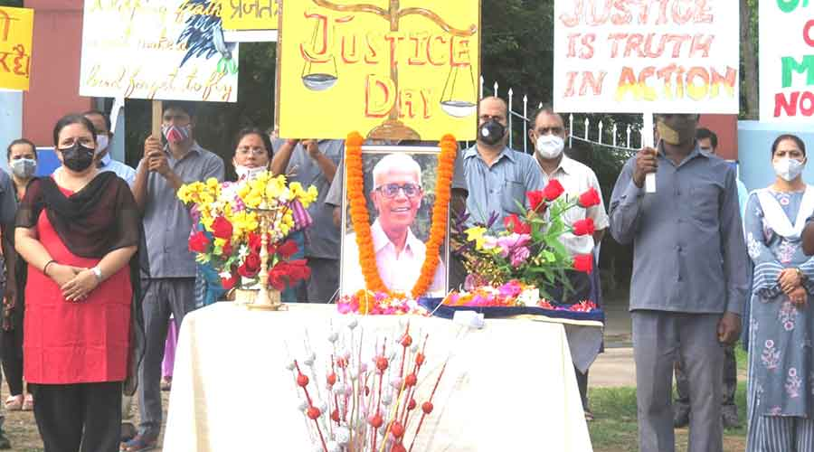 Stan Swamy tribute on justice day
