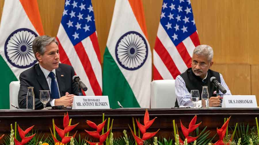 China dominates Blinken's first day in Delhi