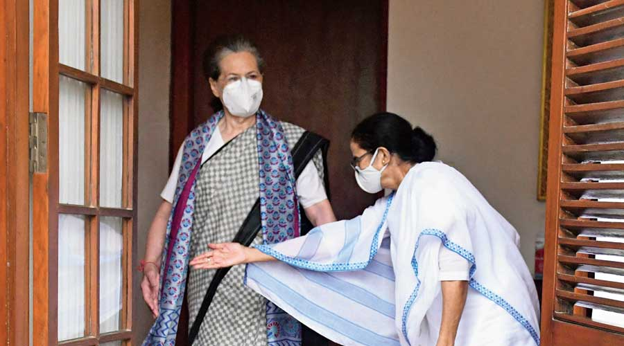 As any discussion on an anti-BJP front is incomplete without the Congress, Mamata had to face a flurry of questions — like its record of engineering the collapse of several non-Congress governments — on the role of the grand old party in the proposed front