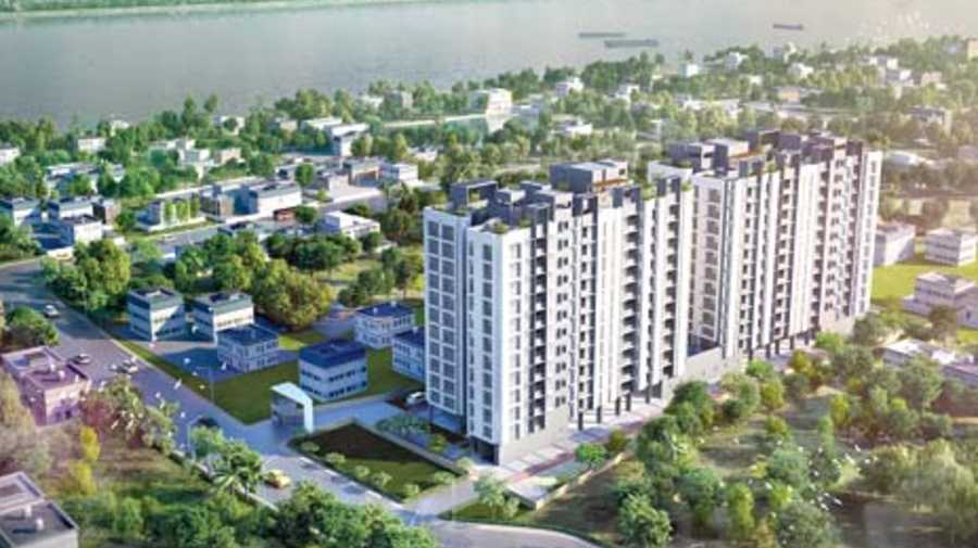 Gangotri is an affordable housing project by the Merlin Group in Konnagar