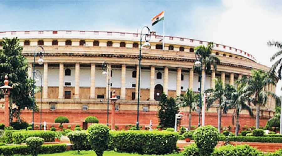 Finance Minister Nirmala Sitharaman moved the bill for consideration and passage.