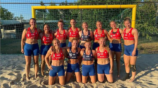 The Norwegian women's beach handball team has been locked in a battle with the sport's governing bodies to wear less-revealing uniforms for some time now.