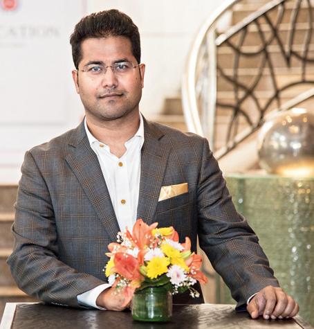 Rahul Dasgupta, director, Globsyn Group
