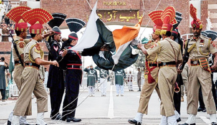India, faced with the possibility of a two-front war with Pakistan in the west, and a newly aggressive China in the northern reaches, would meet Pakistan half-way, Bajwa said