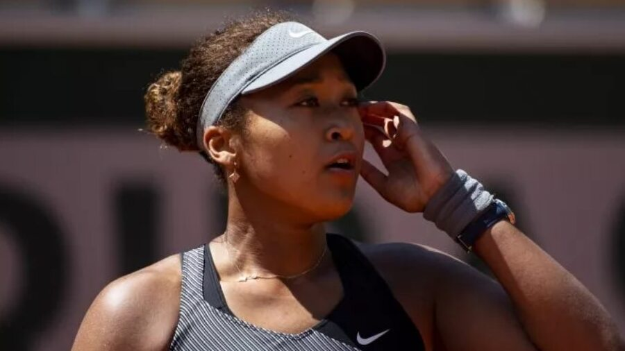 Naomi Osaka ignored the press after her first-round win at French Open.