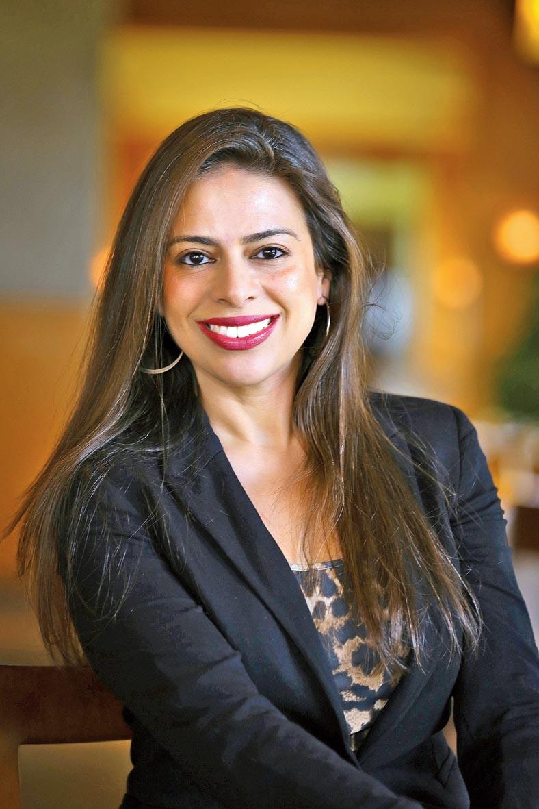 Khushnooma Kapadia, senior area director of marketing, South Asia, Marriott International Inc.