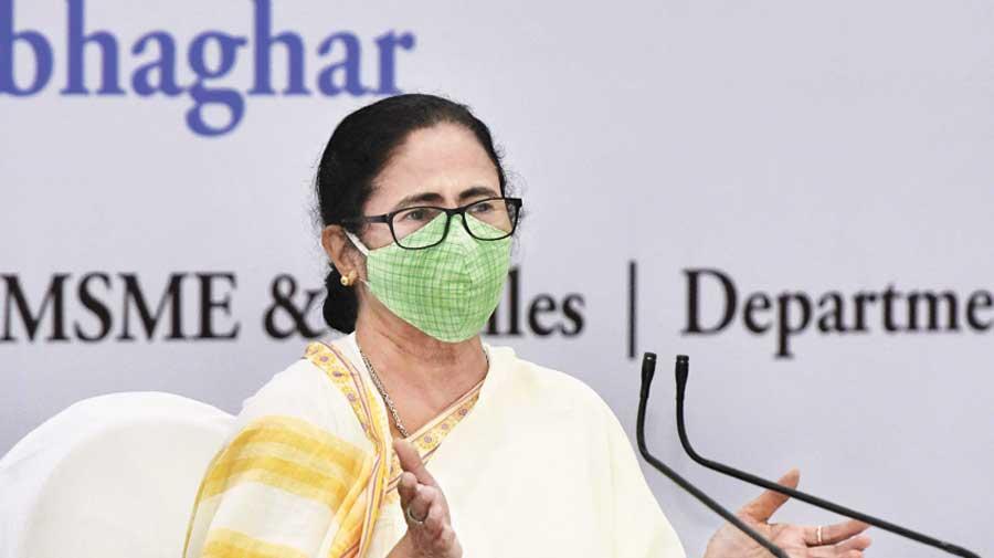 Mamata Banerjee at the meeting