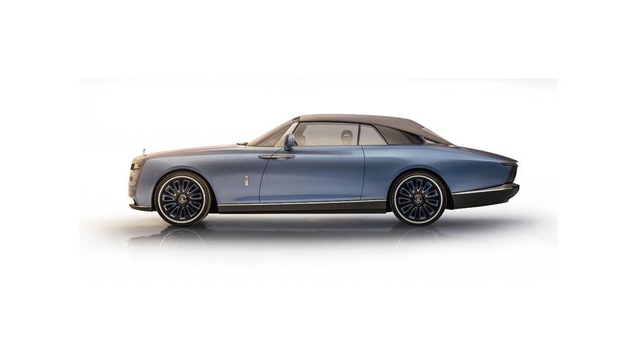 The platform being used by Rolls-Royce lets it create different body styles