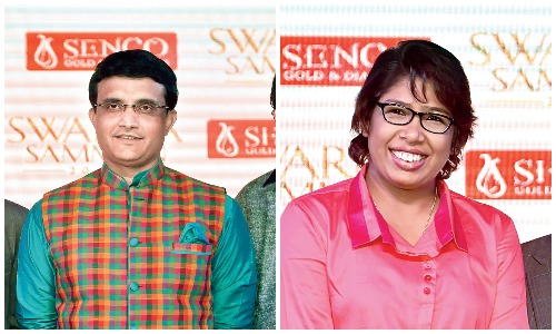 Who are your fave cricketers? Sourav Ganguly, Sachin Tendulkar, Virat Kohli and Jhulan Goswami