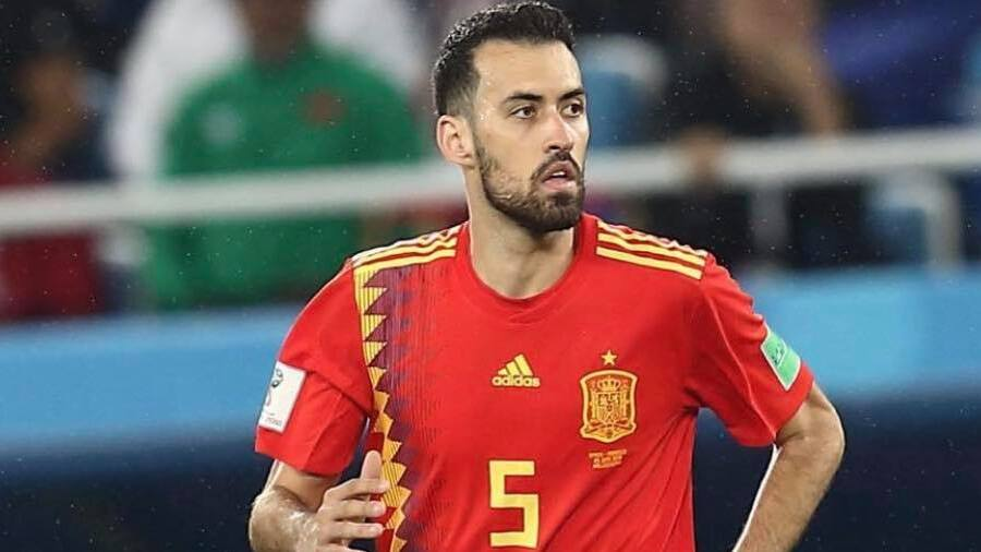 All other players in the Spanish squad tested negative for Covid-19, the federation said on Sunday.