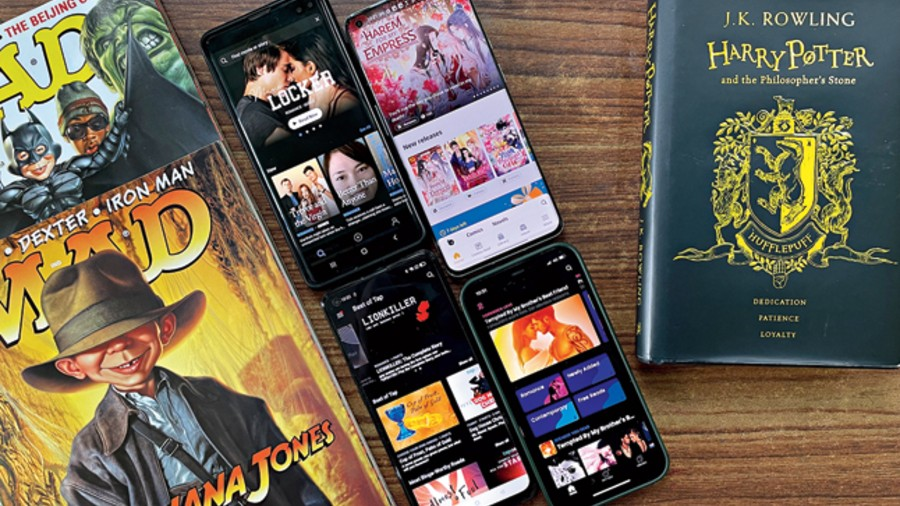 Digital platforms like Radish, Hooked, Tap by Wattpad and Tapas are transforming storytelling at a time when youngsters are spending more time on short-video formats via Snapchat, YouTube and Instagram.