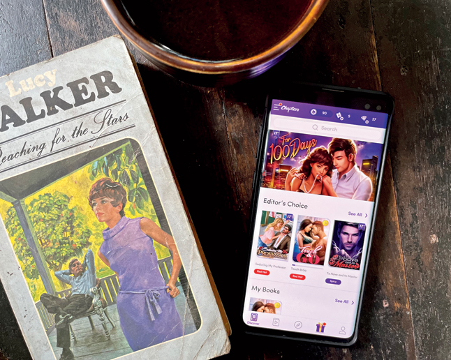 The app Chapters takes stories and turn them into interactive content