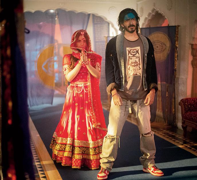 Radhika Madan and Harshvarrdhan Kapoor in Spotlight, directed by Vasan Bala