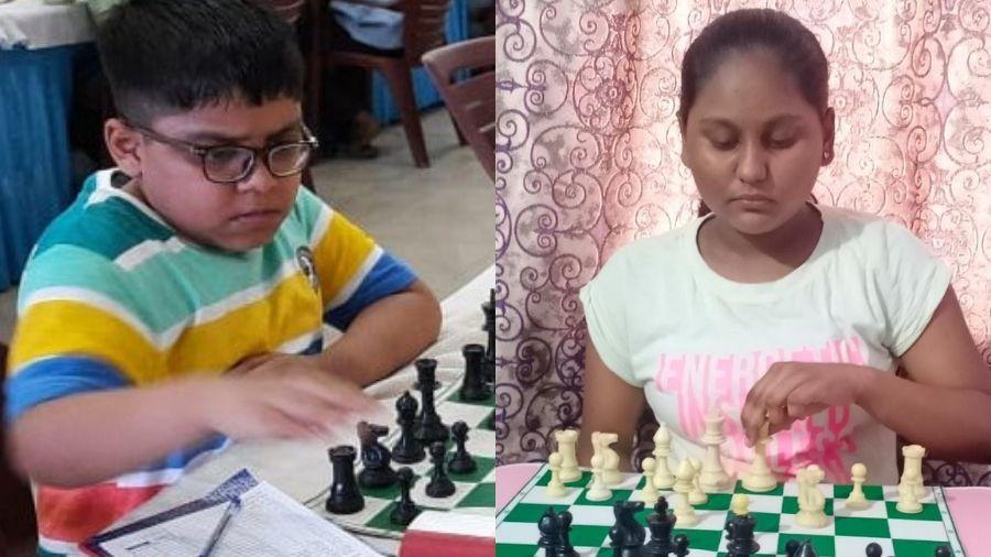 Adhiraj Mitra and Kriti Kumari.