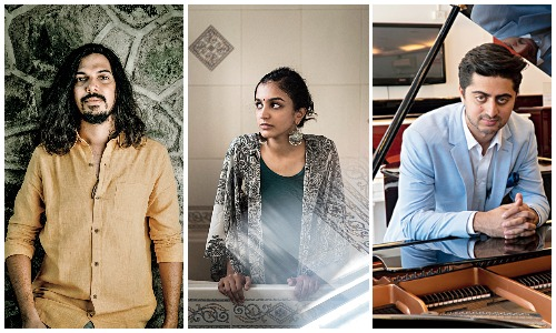 (Left to right) Vinay Kaushal featuring Aditi Ramesh and Sharik Hasan