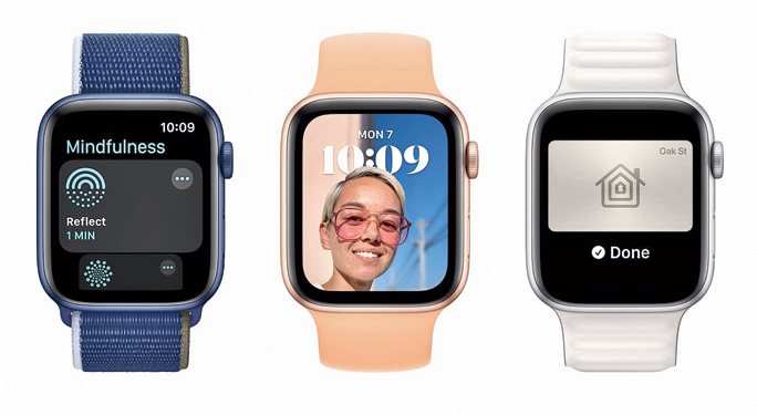 With watchOS 8 comes the new Mindfulness app