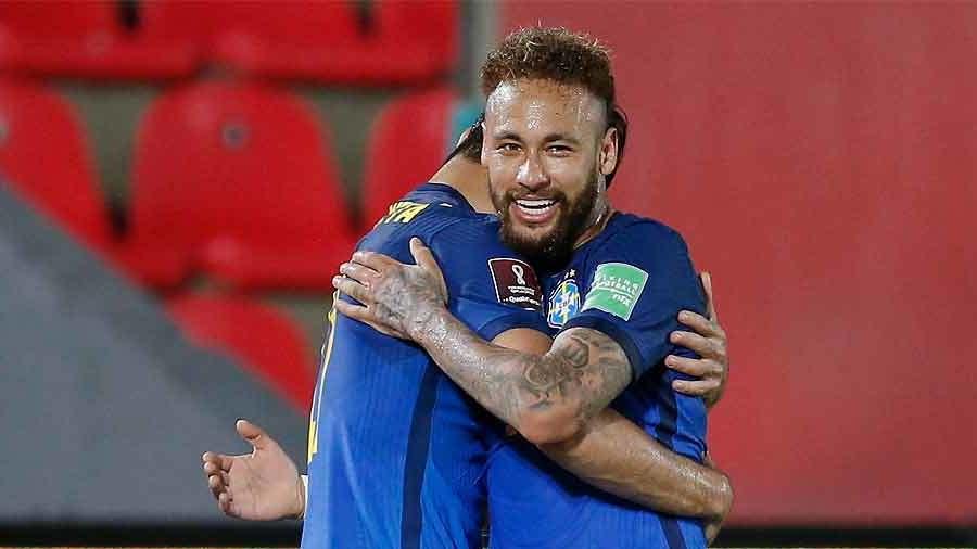 Neymar scored one goal and made an assist.