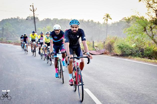 Xaxti-100 Riders in Goa