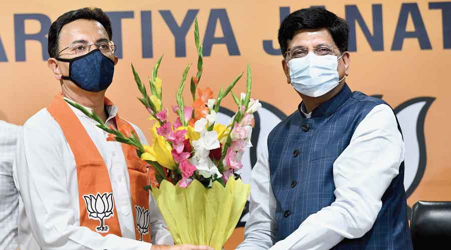 Brahmin and a dynast? Welcome to the BJP